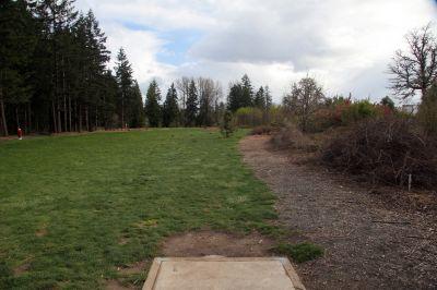 Orchard Park, Main course, Hole 5 Tee pad