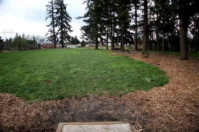 Orchard Park, Main course, Hole 9 Tee pad