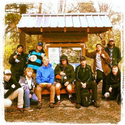 Hood River DGC, Main course, Hole 1