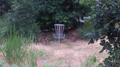Hood River DGC, Main course, Hole 9 Putt