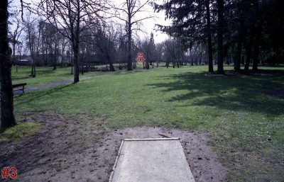 Wortman Park, Main course, Hole 4 Tee pad