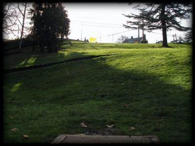 Herbert Hoover Park, Main course, Hole 2 Tee pad