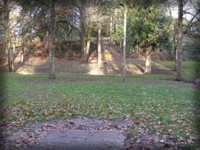 Herbert Hoover Park, Main course, Hole 4 Tee pad