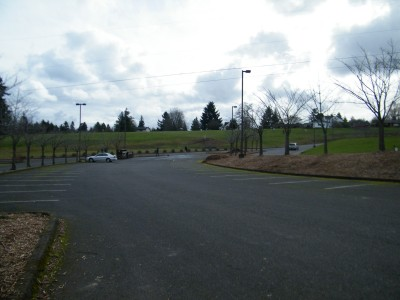 Portland Lunchtime DGC, Main course, Hole 6 Tee pad