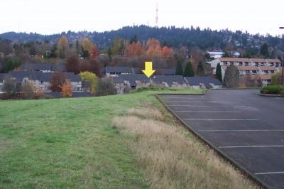 Portland Lunchtime DGC, Main course, Hole 1 Midrange approach