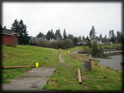 Portland Lunchtime DGC, Main course, Hole 11 Long tee pad