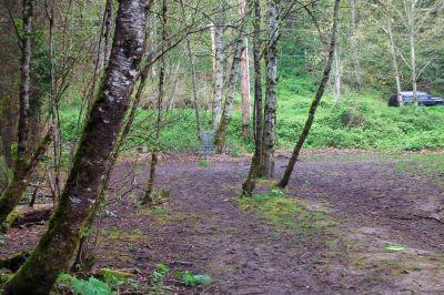 Dabney State Park, Main course, Hole 1 Midrange approach
