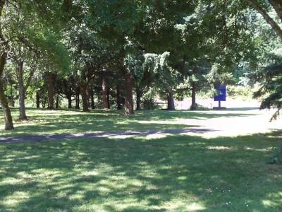 Trojan Park, Main course, Hole 2 Tee pad