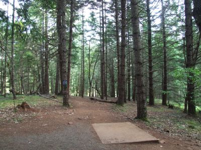 Whistler's Bend, Main course, Hole 6 Tee pad
