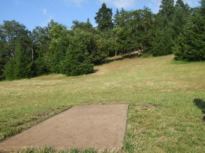 Whistler's Bend, Main course, Hole 13 Tee pad