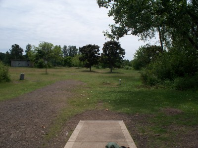 Cascades Gateway, Main course, Hole 3 Tee pad