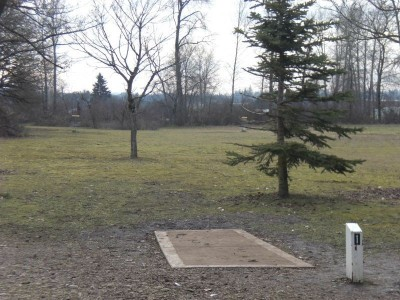 Cascades Gateway, Main course, Hole 1 Tee pad