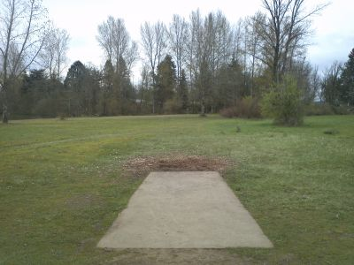 Cascades Gateway, Main course, Hole 7 Tee pad