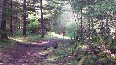 Camp Dakota, Main course, Hole 4 Short approach