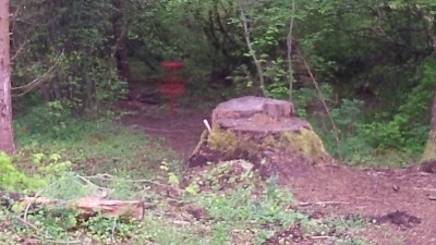 Camp Dakota, Main course, Hole 6 Short approach
