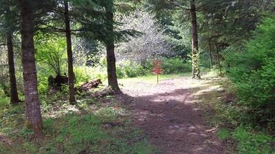 Camp Dakota, Main course, Hole 3 Short approach