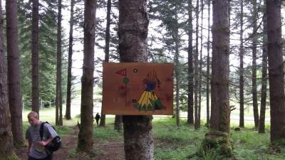 Camp Dakota, Main course, Hole 17 Hole sign