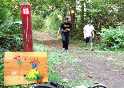 Camp Dakota, Main course, Hole 15 Tee pad