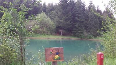 Camp Dakota, Main course, Hole 10 Short approach
