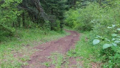 Camp Dakota, Main course, Hole 14 Midrange approach