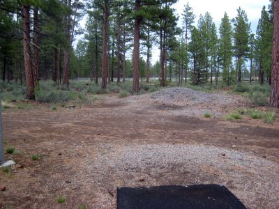 Hyzer Pines at S.O.A.R., Main course, Hole 16 Tee pad