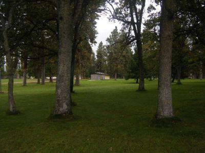 Tree Top DGC at Sorosis Park, Main course, Hole 16 Midrange approach