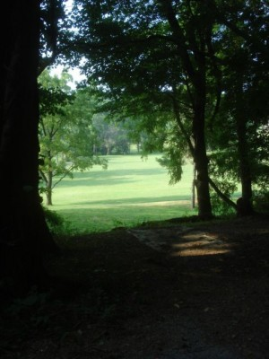 Roland Park, Main course, Hole 3 Long tee pad