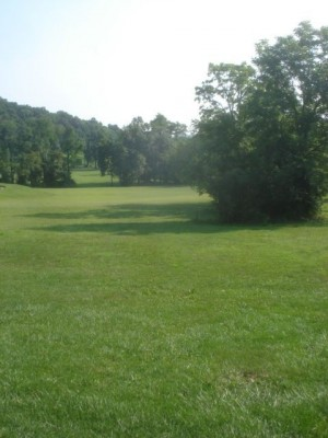 Roland Park, Main course, Hole 8 Tee pad
