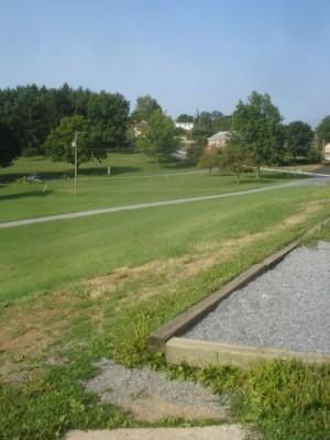 Roland Park, Main course, Hole 11 Tee pad