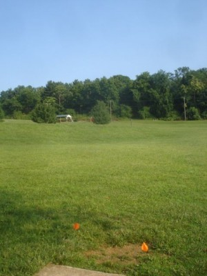 Roland Park, Main course, Hole 4 Short tee pad