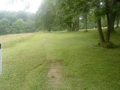 Old Economy Park, Main course, Hole 4 Tee pad