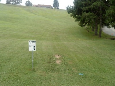 Old Economy Park, Main course, Hole 1 Tee pad