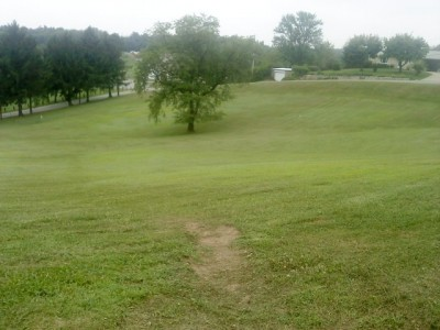 Old Economy Park, Main course, Hole 3 Tee pad