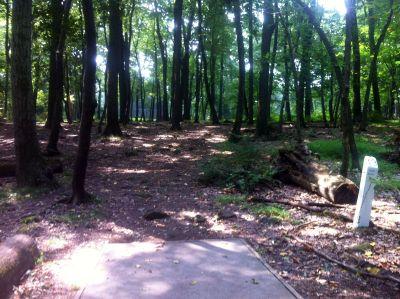 South Mountain Park, Main course, Hole 13 Tee pad