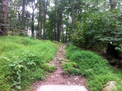 South Mountain Park, Main course, Hole 2 Tee pad