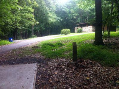 South Mountain Park, Main course, Hole 7 Tee pad