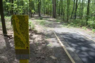 French Creek State Park, Pleasure Mountain, Hole 6 Tee pad