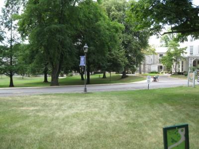 Wilson College, Main course, Hole 2 Tee pad