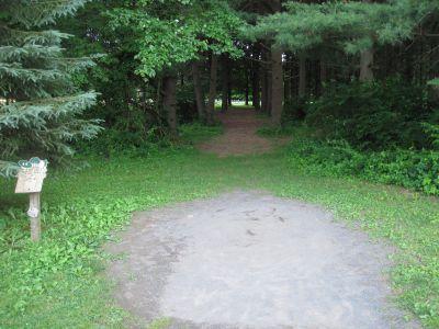 Tinicum Park, Main course, Hole 14 Tee pad