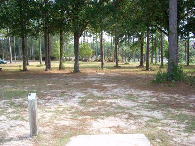 University of South Alabama, Main course, Hole 9 Tee pad