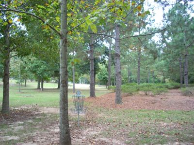 University of South Alabama, Main course, Hole 3 Reverse (back up the fairway)