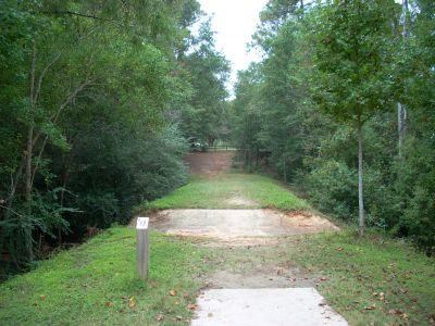 University of South Alabama, Main course, Hole 4 Tee pad