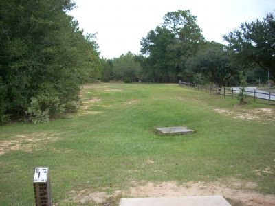 University of South Alabama, Main course, Hole 6 Tee pad