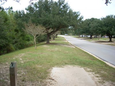 University of South Alabama, Main course, Hole 5 Tee pad