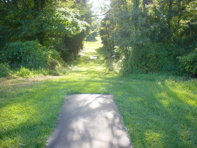 Codorus State Park, Red course, Hole 20 Long tee pad