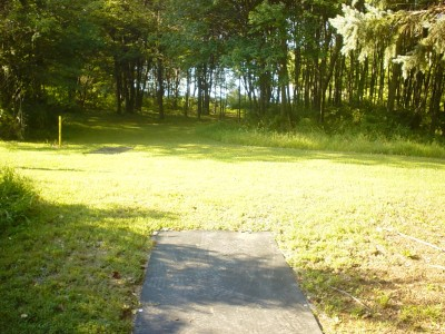 Codorus State Park, Red course, Hole 23 Long tee pad