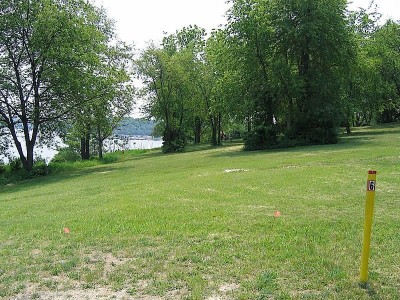 Codorus State Park, Red course, Hole 6 Long tee pad