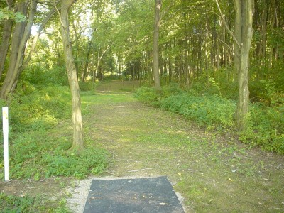 Codorus State Park, Red course, Hole 24 Long tee pad
