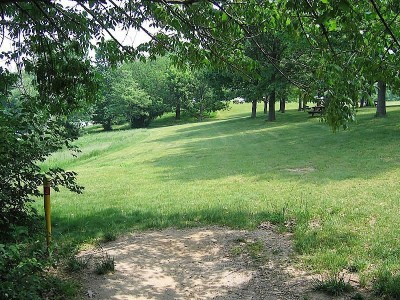 Codorus State Park, Red course, Hole 3 Long tee pad