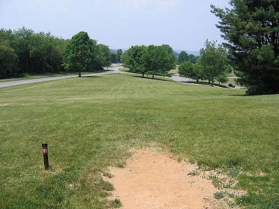 Codorus State Park, Red course, Hole 18 Long tee pad